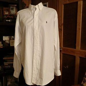 Ralph Lauren Longsleeve White Dress Shirt